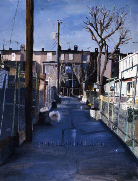 Trash Day (the Alley)